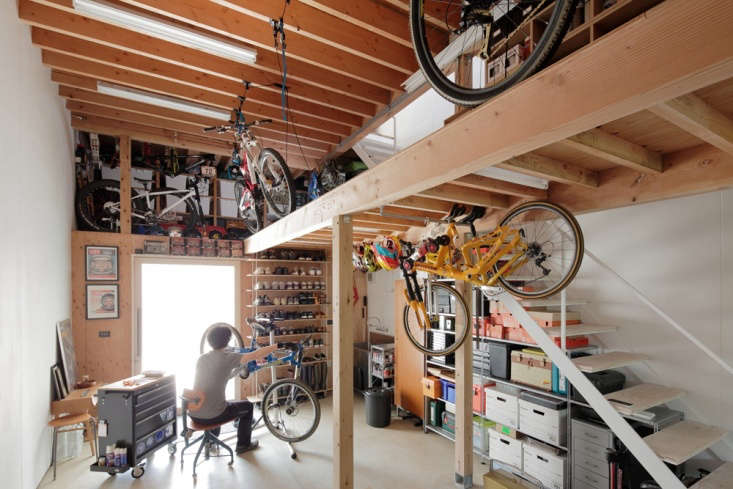 the product designer&#8\2\17;s workshop is right off the front door.bikes 19
