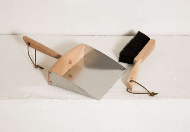 the german made dustpan and broom set by redecker is \$68 at joinery. 17