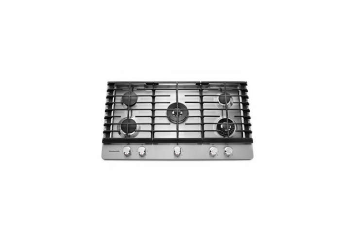 similar to juli and john&#8\2\17;s cooktop, thekitchenaid 36 inch stainle 17