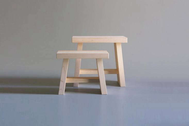 a japanese bath stool from mr. kitly in australia is made of hinoki cypress and 18