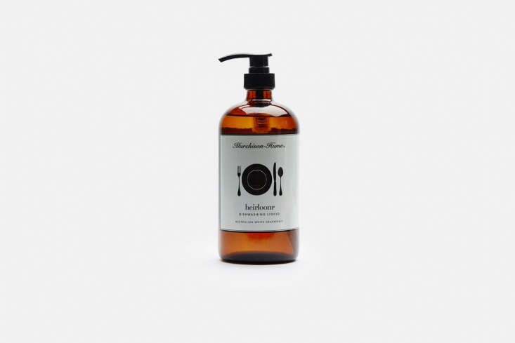 One of our longtime favorites, the Murchison-Hume Heirloom Dishwashing Liquid in a 3