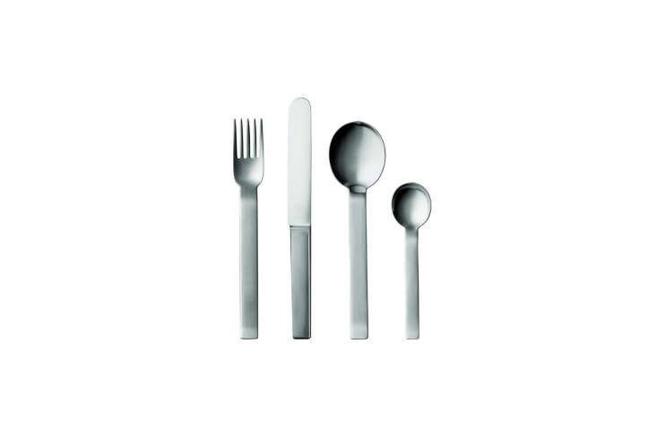the pott no. 35 five piece place setting was designed by carl pott in \1979 wit 11