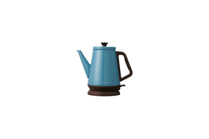 therécolte classic libre electric kettle in blue can be found on amazon for  10