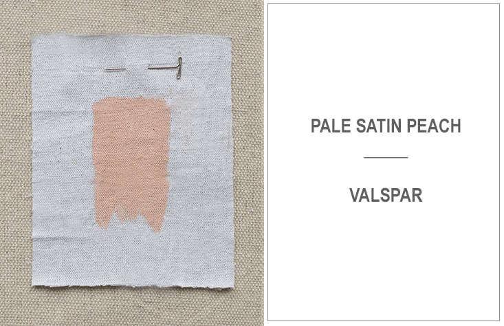 jon call of mr. call designs in new york city likes valspar's pale satin peac 19