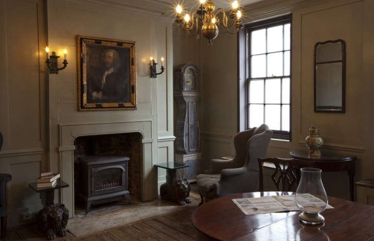 the living area of an early \18th century weaver's house on fournier street i 9