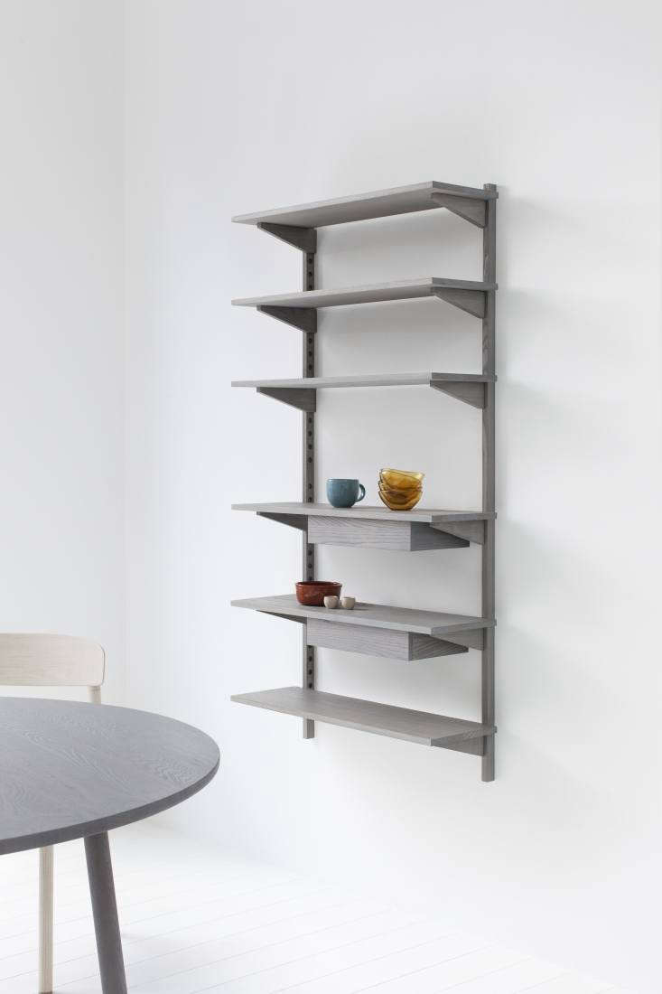 ParedBack Furniture from Stattmann Neue Moebel a FourthGeneration Company in Germany Bautier&#8\2\17;s design converts for use in other rooms: The Unit Shelf, from €470, comes in three sizes and multiple configurations.