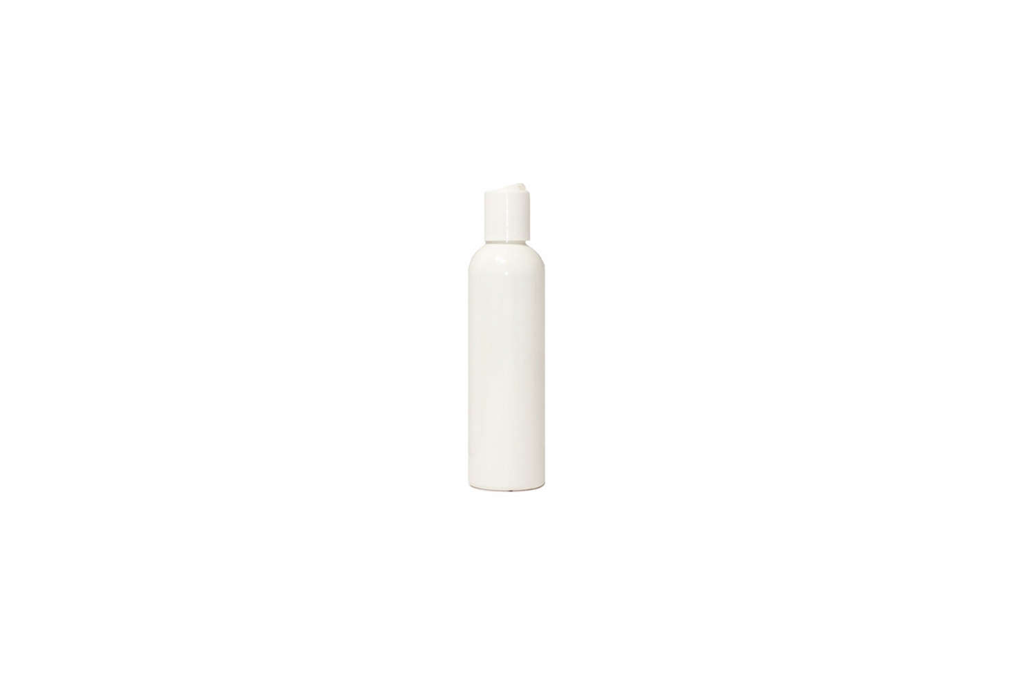 The Tall PET Bullet Bottle Smooth White Disc with Dispenser Screw Cap is $ for a case of  on Amazon.