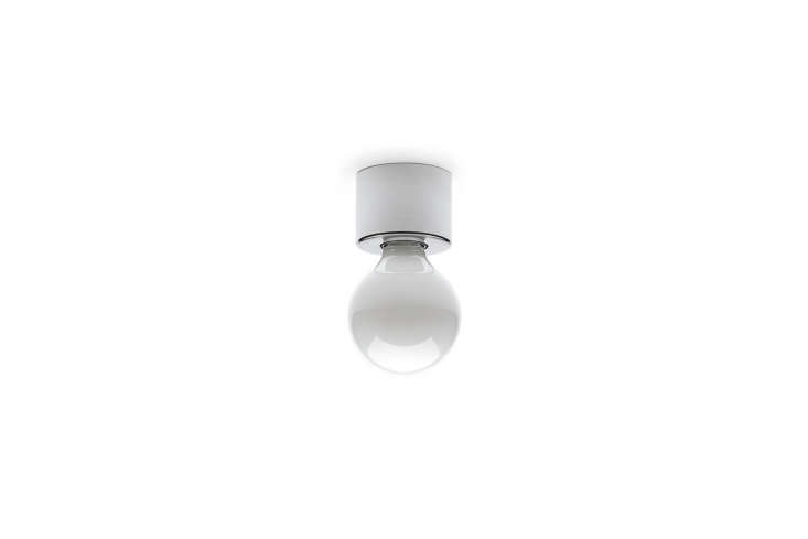 10 Easy Pieces Modern White Ceiling Socket Fixtures from 5 to 300 The Thomas Hoof Lamp Socket with chrome plated brass is €59 at THPG.
