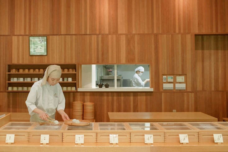 The otherworldly Toraya Kobo, a factory for Japanese confections (wagashi) in Gotemba, can&#8