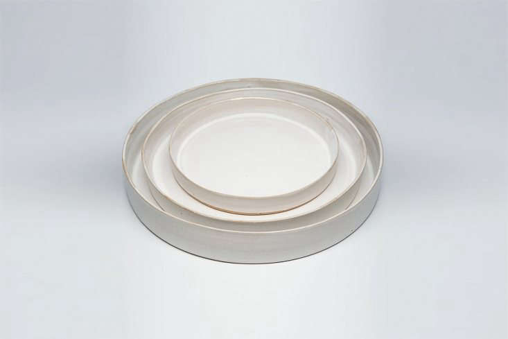 10 Easy Pieces Ceramic Trays Ceramicist Tracie Hervy makes the Large Ceramic Platter (bottom) for \$\280.