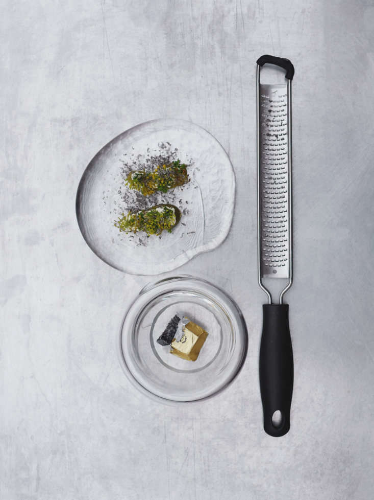 Detail of Dishes at Agrikultur Restaurant in Stockholm, Photo by Niklas Nyman
