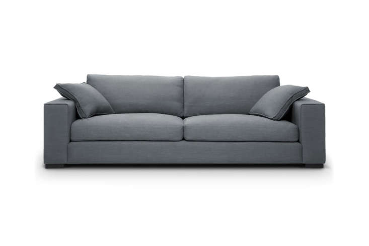 From Article, a company formerly named Bryght, the Sitka Sofa, shown in Thunder Gray but available in two other colors as well, is $loading=