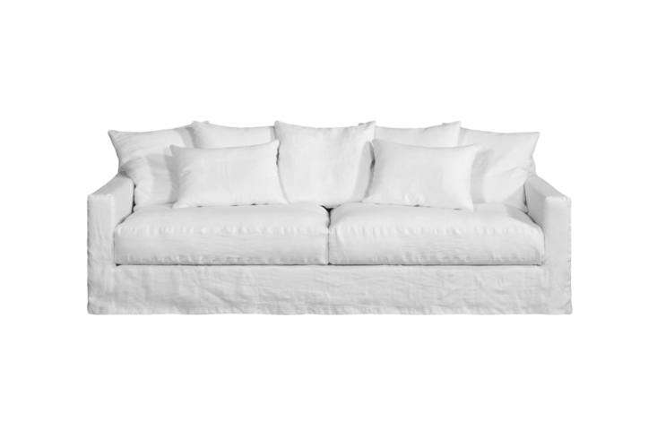One of our favorite Swedish shops, Artilleriet, recently released its own line of sofas, so for EU readers, the 3-Seat Belleville Sofa rings in close to our price point, a little above at ,400 SEK (or $3,