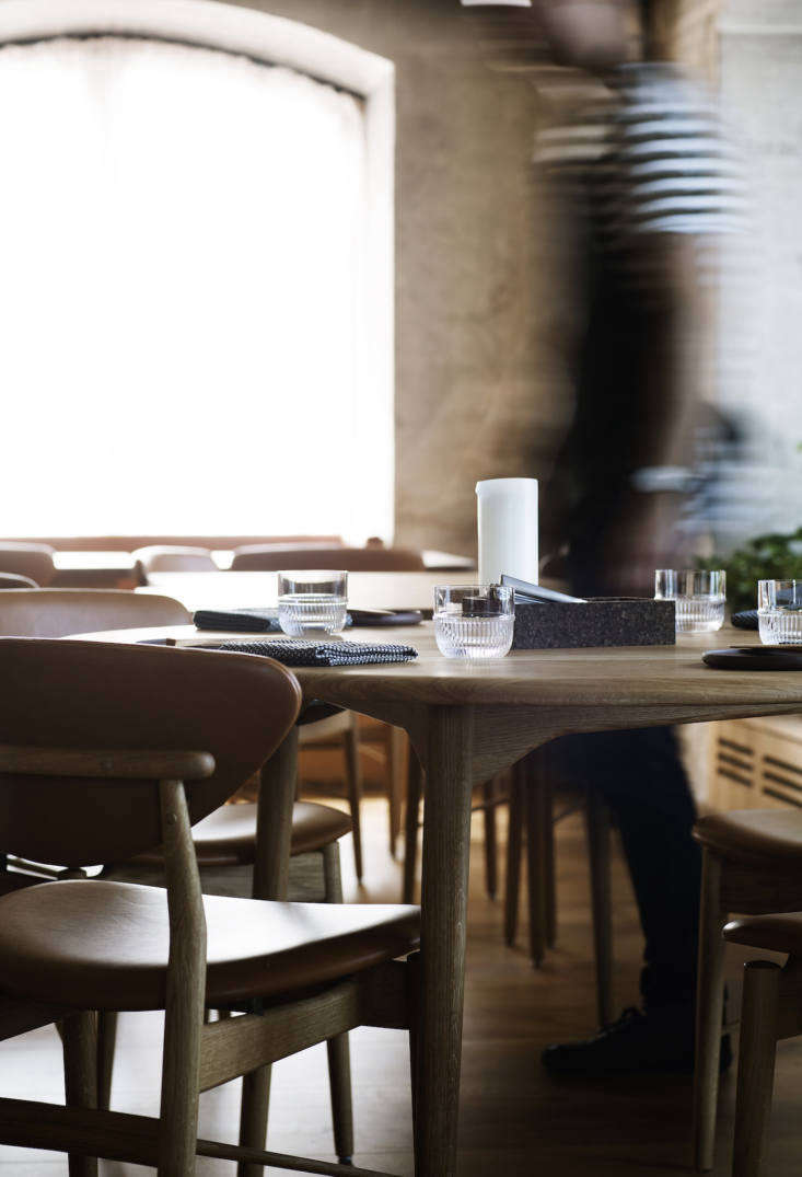 Noma had (and still has, in the new space) 40 seats in the dining room; Barr accommodates 60 diners in the main room and another 30 in the bar.