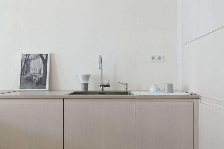 Photograph from Kitchen of the Week: A Poetic Apartment Kitchen by Studio Oink.