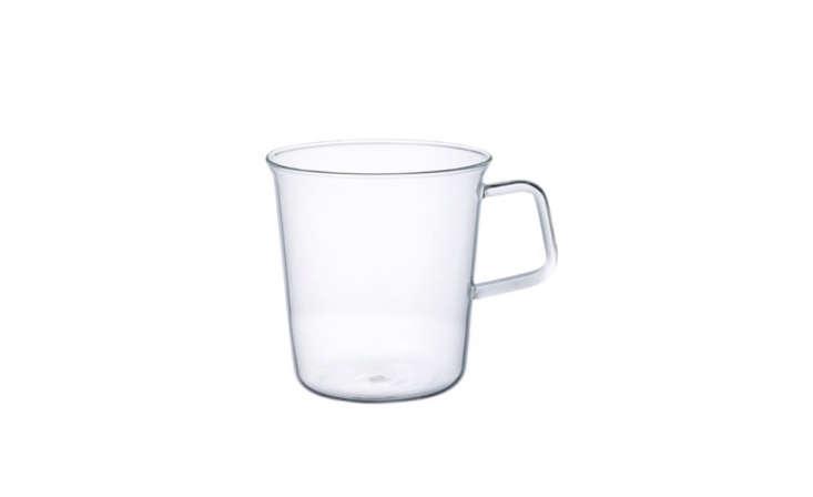 century house clear glass teacup