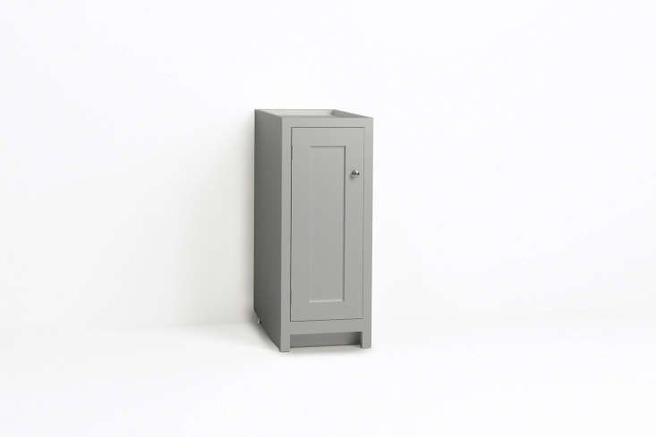 Steal This Look A ShakerStyle Kitchen in Full Color The Shaker style slim deVol 370mm Base Cabinet is £480.