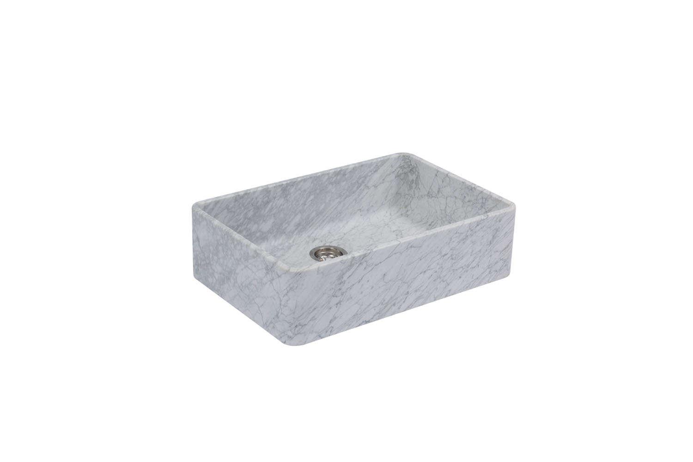 devol&#8\2\17;s penthouse 800 single bowl marble sink has a lighter tone, d 12