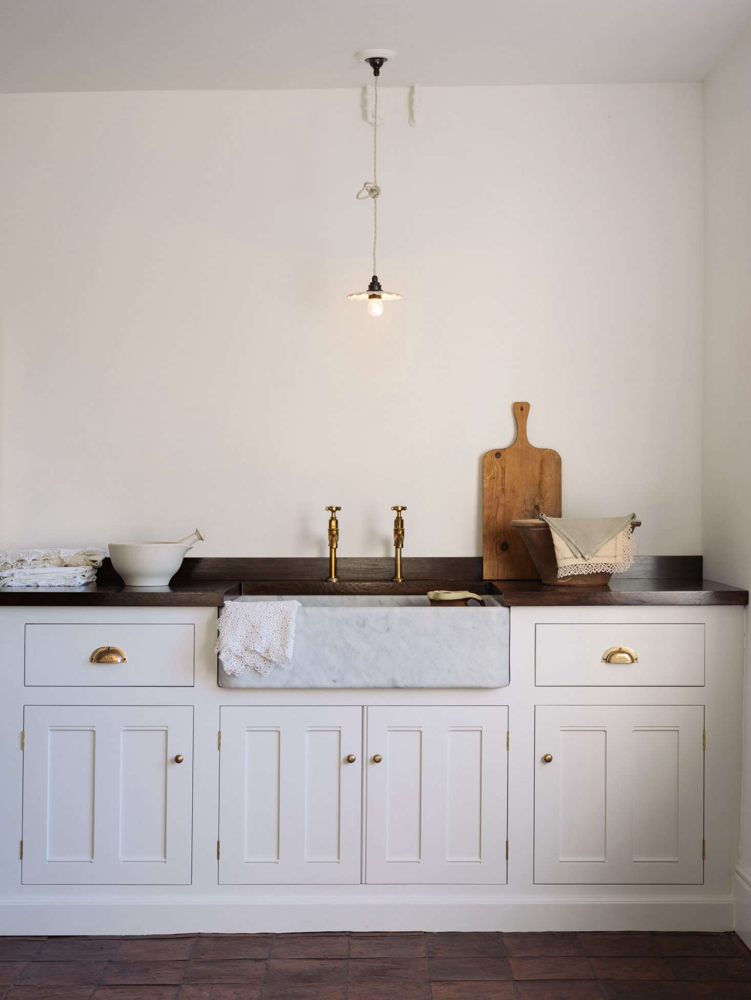 DeVol has been working to produce the line of sinks for some time after admiring the &#8