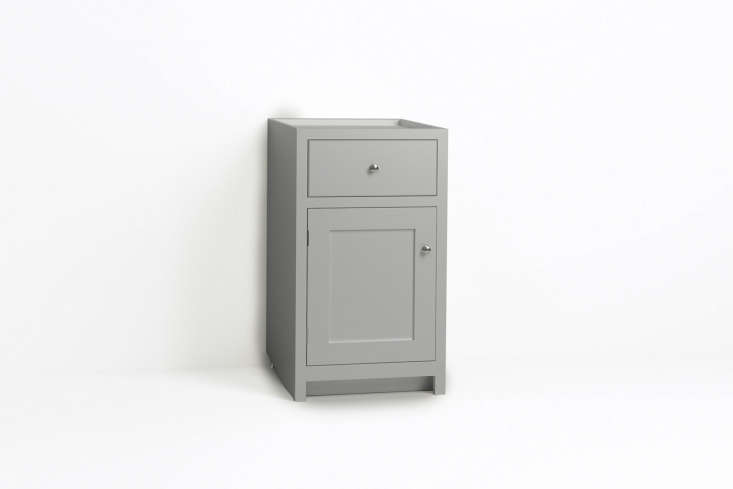 Steal This Look A ShakerStyle Kitchen in Full Color The Shaker style deVol 500mm Door/Drawer Cabinet is £765.