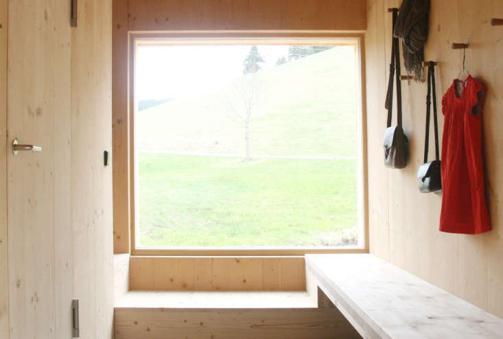 Seilerhansenhof is located in the Black Forest in southwestern Germany, surrounded by fields, forests, farms, and nature trails. The house is made of spruce and fir wood, and almost all furniture is custom designed by the house&#8
