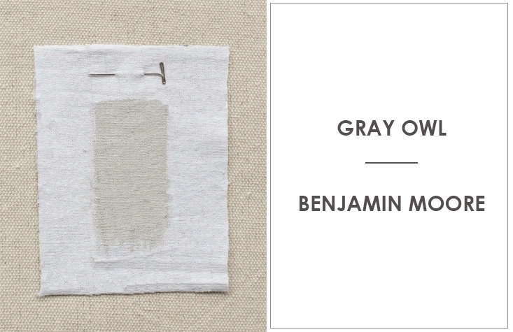 Lindsay Crozier of Brooklyn-basedMaderecommends Benjamin Moore's Gray Owlwith a greenish cast that comes to light when painted on a wall.