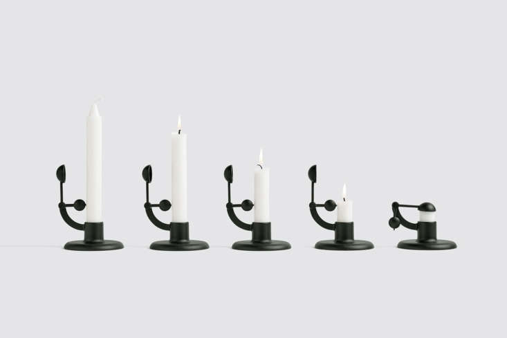 Object of Desire A SelfExtinguishing Candlestick from Hay A look at the life span of a taper via the Moment candlestick. Here&#8\2\17;s a video of the candlestick in action.
