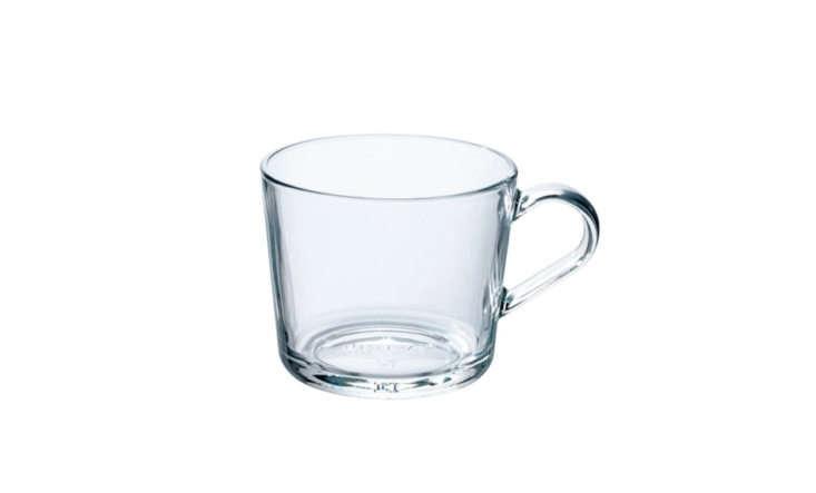 ikea clear glass teacup