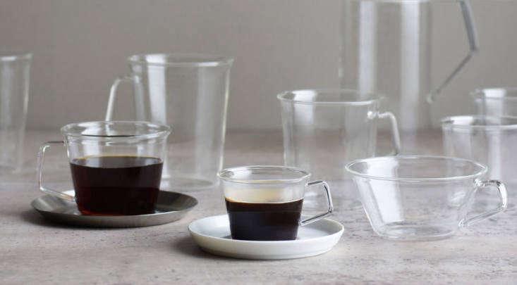 kinto cast modern glass teacups