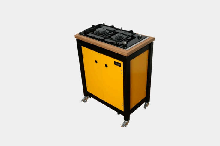 the kochwagen kw60 camper cart is the smallest cart with a two burner gas hob ( 9