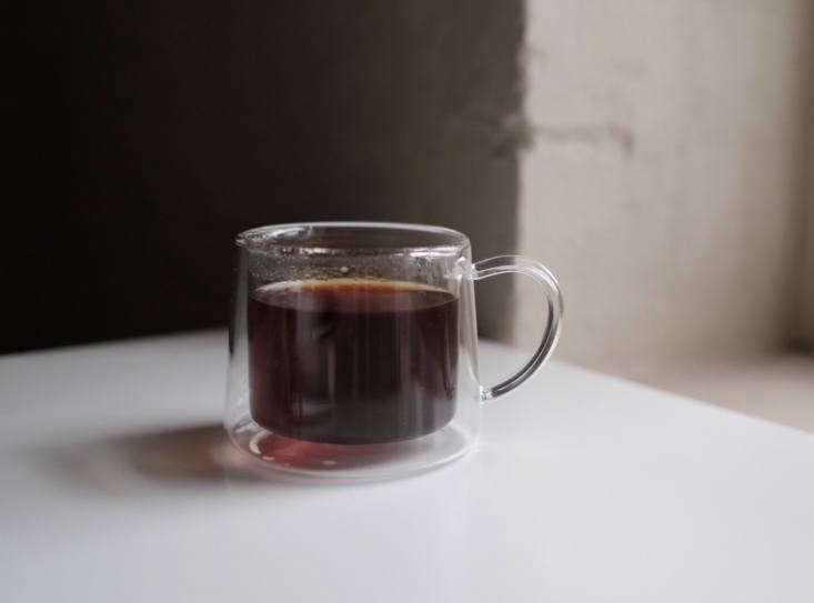 kurasu claska clear glass teacup