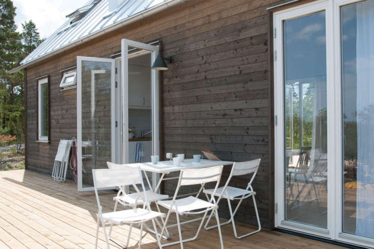 Doors designed for open-air living in the summer.