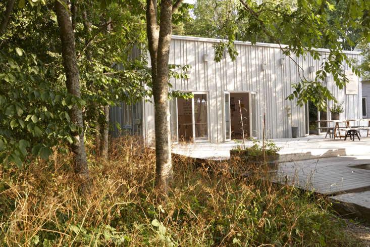 A Leva house designed with a spacious deck.
