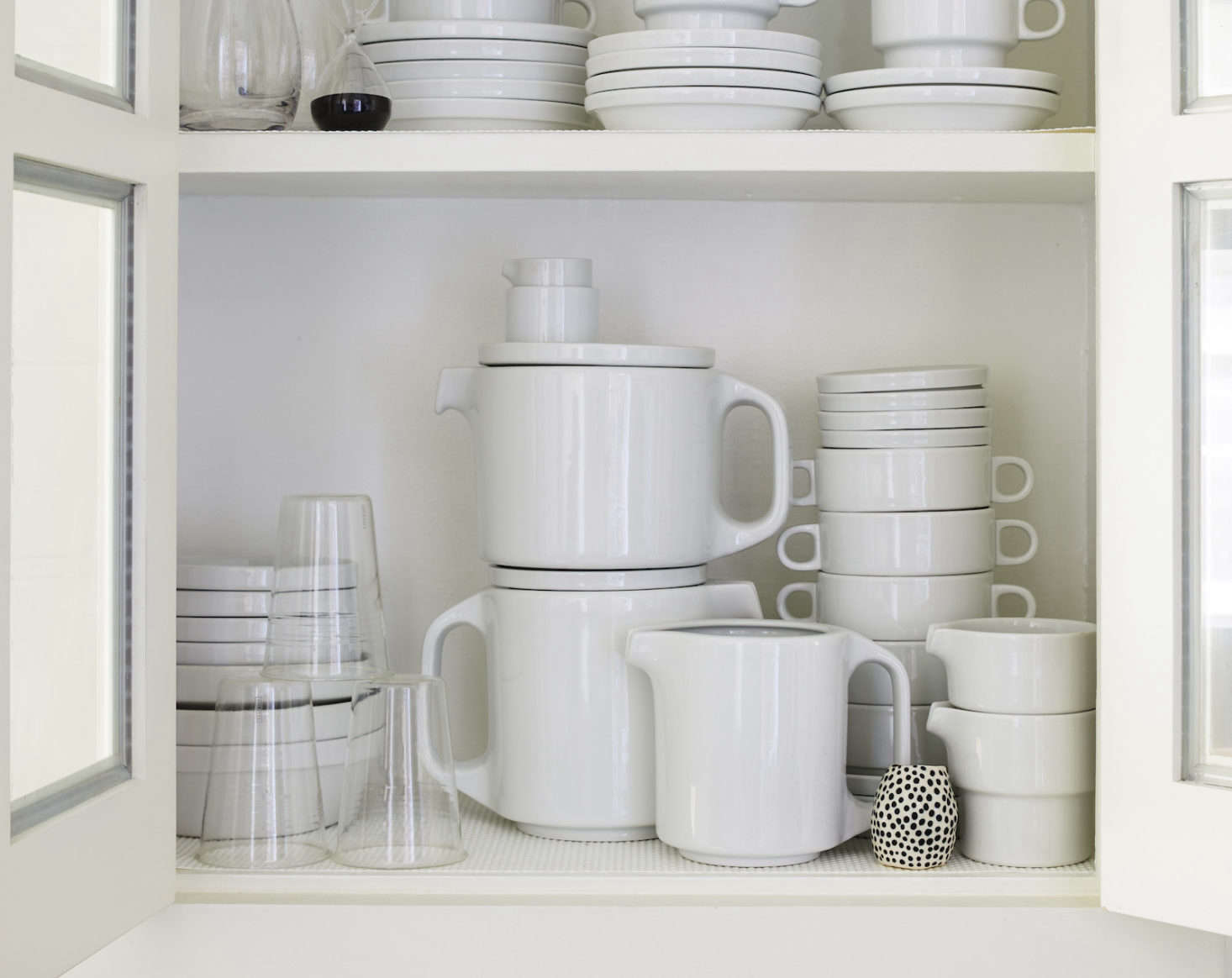 Axe is an avid collector of stackable TC0 tableware byHansRoericht and has amassed quite the collection over the years. The design is part of the Museum of Modern Art&#8