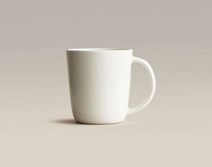 mugs have a \1\2 ounce capacity and a slightly tapered profile inspired by ja 13