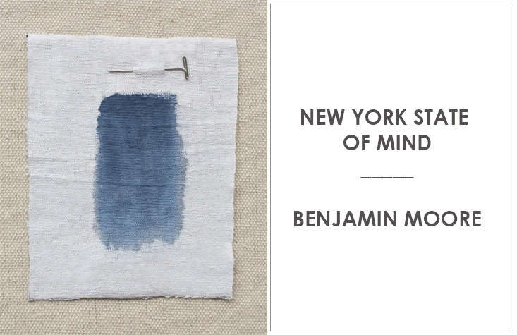 kriste michelini counts benjamin moore'snew york state of mind among her  14