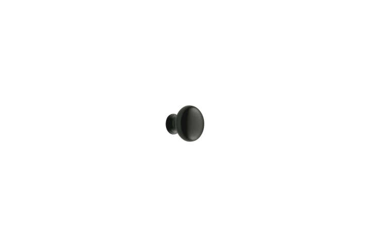 For similar cabinet hardware, the Rejuvenation Massey Solid Round Knobs in oil-rubbed bronze are $8 each.