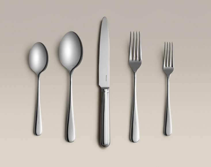 year & day offers a set of four five pieceflatware settings in polished s 18
