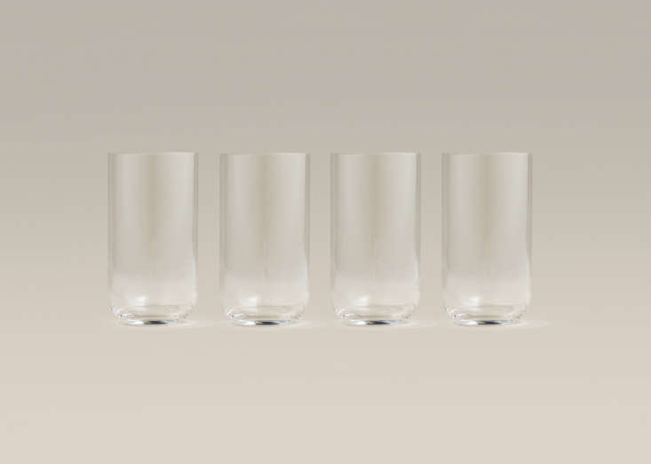 tall glasses are made in italy of lead free glass. they&#8\2\17;re 5 3/4 in 15