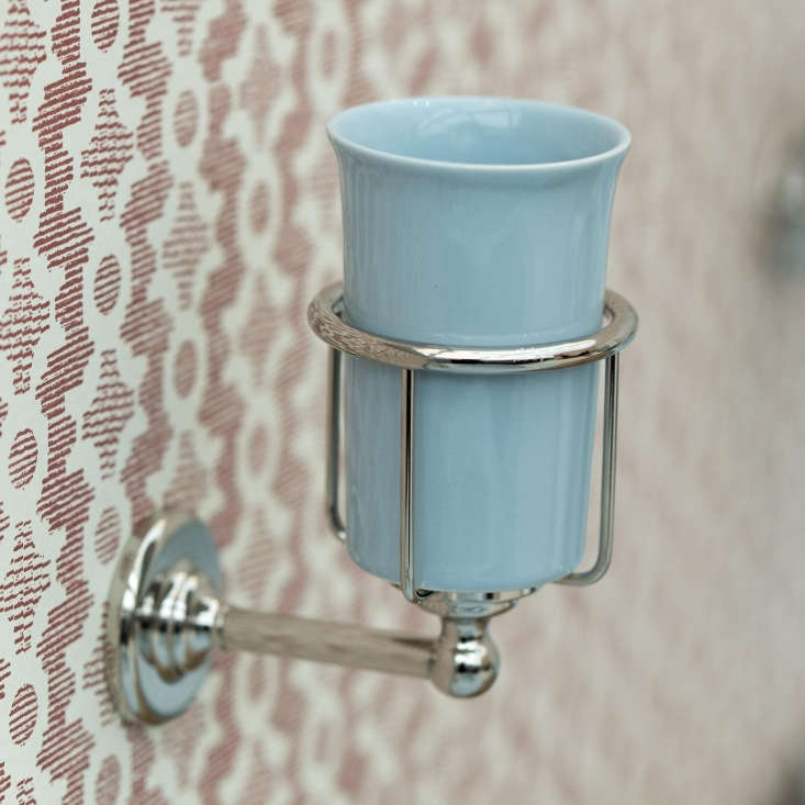 Retro Bath Fixtures in Retro Colors from the Water Monopoly TheColored Rockwell Tumbler Holder is available in all finishes and with a tumbler in all colors; £\206.