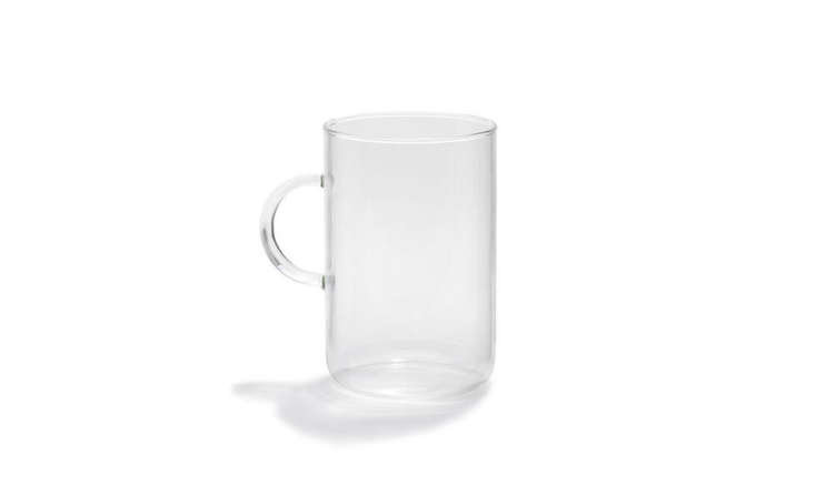 trendglass clear glass teacup