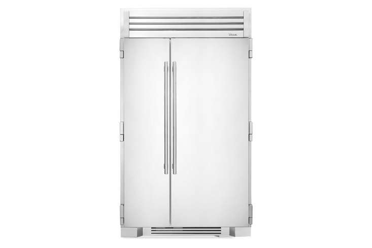 the widest model, the true residential full size 48 inch refrigerator with stai 10