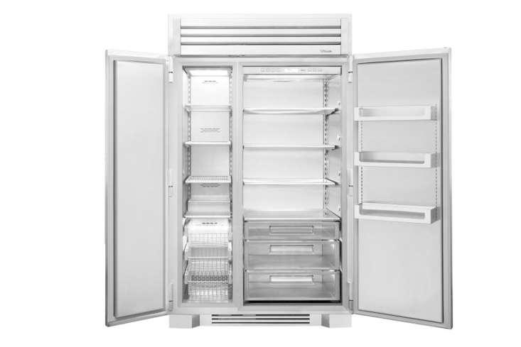 the interior of the 48 inch refrigerator. 11