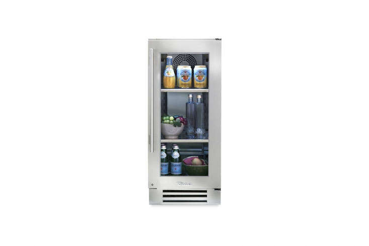 the true residential undercounter \15 inch refrigerator is ultra narrow and fea 18