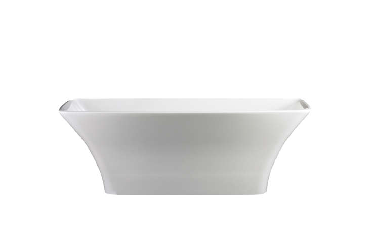 The Victoria & Albert Ravello Freestanding Bathtub is available through Victoria & Albert. For more modern tubs, see our post Easy Pieces: Modern Bathtubs.