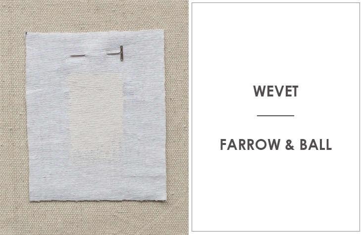 Ellen Hamilton of Hamilton Design Associates considers Farrow & Ball's Wevet a favorite cool-toned white.