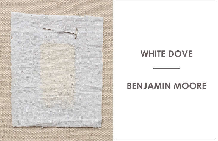 brooklyn firmmadechooses the softly warm white dove by benjamin moore. 12