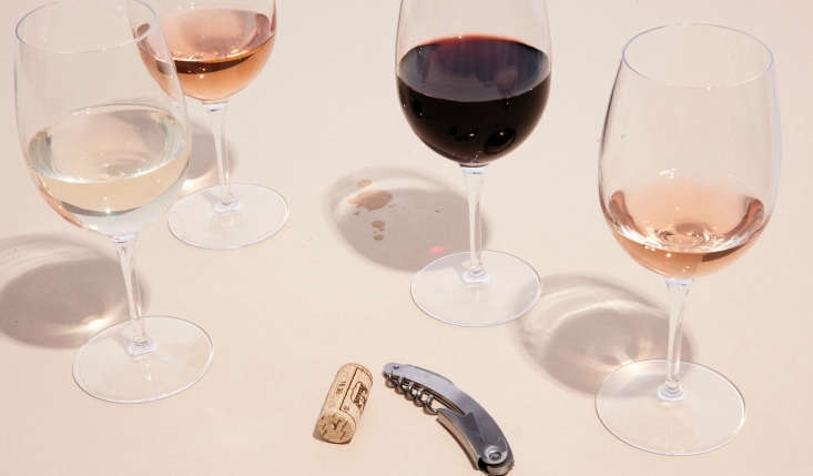 the company offers a single, all purpose wine glass for all types of wine.win 17