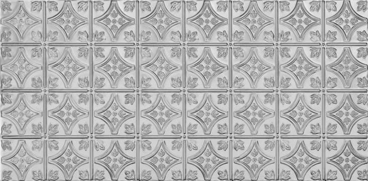 armstrong&#8\2\17;smetallairesmall floral circlepattern in chrome. 16