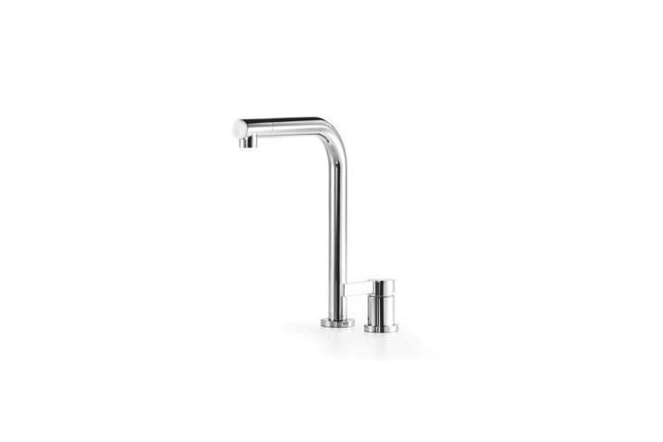 The Dornbracht Elio Two Hole Kitchen Mixer Faucet, available in matte or polished finish, is $loading=